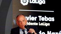 """Javier Tebas: """"Real Madrid, Barça y Juventus deberían estar asustados"""""""