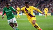 Los planes de Junior Firpo no concuerdan con los del FC Barcelona