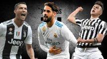 El XI con el que sueña Andrea Pirlo para la Juventus de Turín
