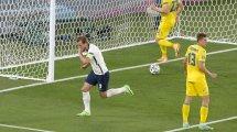 Eurocopa | Inglaterra arrolla a Ucrania y se cita con Dinamarca en semifinales