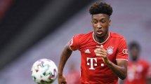 La férrea postura del Bayern Múnich con Kingsley Coman
