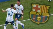 El FC Barcelona persigue la fórmula adecuada por Pjanic y Lautaro