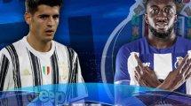 Las alineaciones del Juventus - Oporto