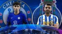 Las alineaciones del Chelsea - Oporto