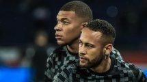 La tensión entre Neymar y Kylian Mbappé, al rojo vivo