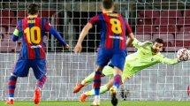 Liga de Campeones | Marc-André ter Stegen rescata a un preocupante FC Barcelona