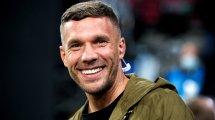 Lukas Podolski se va al Górnik Zabrze