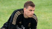 Los cuatro pretendientes de Andriy Lunin lejos del Real Madrid