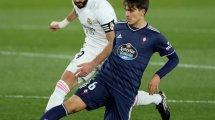 Liga | El Real Madrid supera al Celta de Vigo en Valdebebas