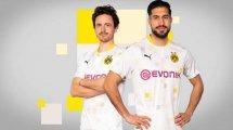 El BVB desvela una original tercera camiseta