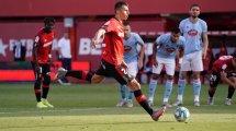 Liga | El Real Mallorca arrolla al Celta de Vigo