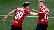 Atlético   Manu Sánchez retorna a Osasuna