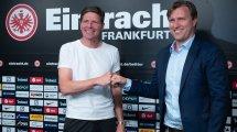 El Eintracht de Frankfurt fortalece su meta