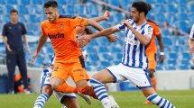 Maxi Gómez le tiene tomada la medida al FC Barcelona