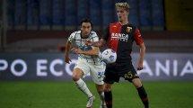La Juventus examina a 3 jugadores del Génova