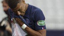 Kylian Mbappé estará en el dique seco tres semanas