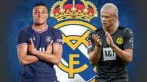 El Real Madrid conserva su estrategia con Kylian Mbappé y Erling Haaland