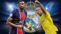 El Real Madrid mantiene vivo el sueño de reunir a Mbappé y Haaland