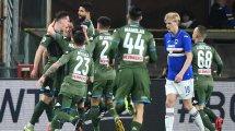 Serie A | El Nápoles supera a la Sampdoria en un partido vibrante