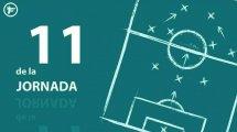 Liga | El equipo tipo de la jornada 17