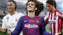 Liga | Los 10 fichajes más caros del verano