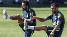 La bronca de Dani Alves a Neymar durante el pasado Mundial