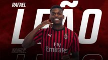 Oficial | Rafael Leao refuerza al AC Milan