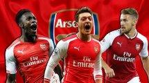 Arsenal   Varias piezas en la puerta de salida