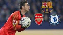 Meten al FC Barcelona en la carrera por Koen Casteels