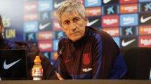 FC Barcelona   Setién, satisfecho con el trabajo de sus futbolistas