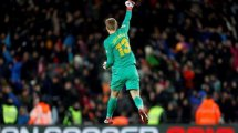 El FC Barcelona ya escogido al relevo de Jasper Cillssen