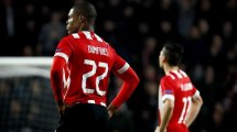 Denzel Dumfries, pretendido por el Manchester United