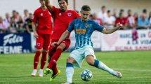Ivan Šaponjić y la paradoja del delantero en el Atlético de Madrid