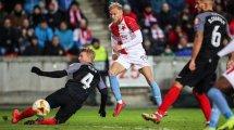 Europa League | El frenesí del Slavia Praga acaba con el sueño europeo del Sevilla