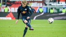 Emil Forsberg, la petición de José Mourinho al Tottenham