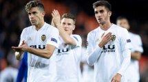 Los 3 jugadores del Valencia que vigila el Manchester United
