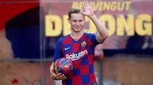 El FC Barcelona presenta a Frenkie De Jong en sociedad