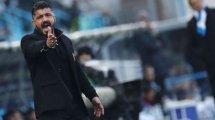 Gennaro Gattuso analiza el choque ante el FC Barcelona