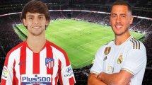 Joao Felix & Eden Hazard, las nuevas estrellas que quieren brillar en el derbi