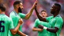 Karim Benzema, la clara apuesta de ataque del Real Madrid