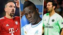 Los 11 jugadores libres en el mercado internacional