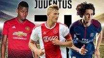 Diario de Fichajes | La Juventus de Turín quiere armar un proyecto de muchos galones para reinar en Europa