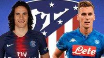 Diario de Fichajes   La prioridad del Atlético sigue siendo un delantero centro