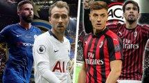 Diario de Fichajes | Inter y AC Milan apuran sus opciones en enero