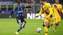 Inter de Milán y Nápoles estudian un intercambio