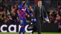 El FC Barcelona mantiene su confianza en Ousmane Dembélé