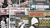 Fabián y Willian hacen soñar al FC Barcelona, lucha en Italia por el regreso de Zlatan Ibrahimovic