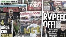 El Chelsea quiere pescar en Oporto, Zinedine Zidane está de celebración