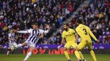 Liga   Reparto de puntos entre Real Valladolid y Villarreal