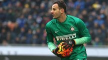 El Inter de Milán maneja 2 posibles herederos para Samir Handanovic